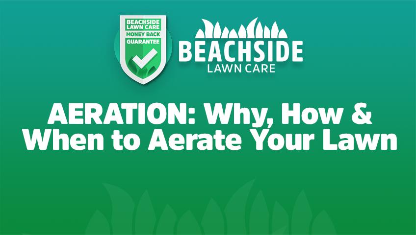 beachside lawn care aeration